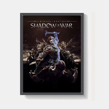 Middle earth Canvas Posters Prints Shadow of War Living Room Wall Art Painting Decorative Picture Modern Home Decoration