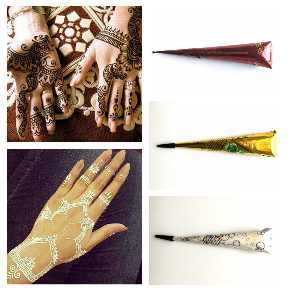 Henna Tattoo Cones For Sale: Aliexpress.com : Buy New Pigment Indian Waterproof Henna