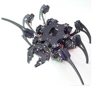 19DOF Robotic Pająk Hexapod Sześć Nogi Robota Rama Aluminiowa Zestaw Z 19 sztuk Metal Servo Płyty