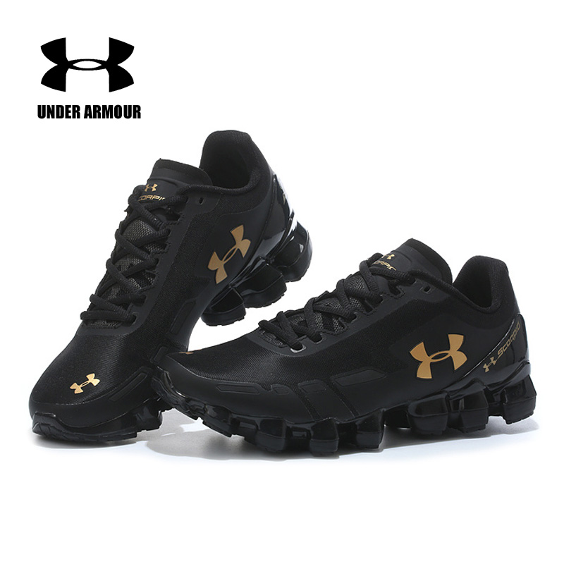 Under Armour Scorpio 2 Mens Running Shoes Zapatillas Hombre Deportiva Walking Soft Trekking Shoes Breathable Jogging Sneakers under armour hovr phantom mens running shoes sock sneakers zapatillas hombre deportiva outdoor walking jogging shoes new arrival