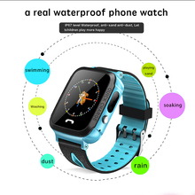 купить Kids Smart Watch Phone GPS Tracker SIM Card SOS Call smartwatch LBS position for Child Android iOS Touch Screen Camera phone дешево