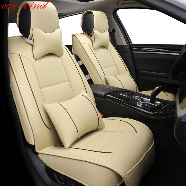 Car Wind Brand Leather Ics Silk Seat Covers For Kia Sportage 3 Volkswagen Polo Renault