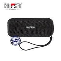 Chialstar IPX6 Impermeabile Altoparlanti Esterni Rivestimento In Tessuto Portatile Altoparlante Senza Fili di Bluetooth per Correre Arrampicata Ciclismo