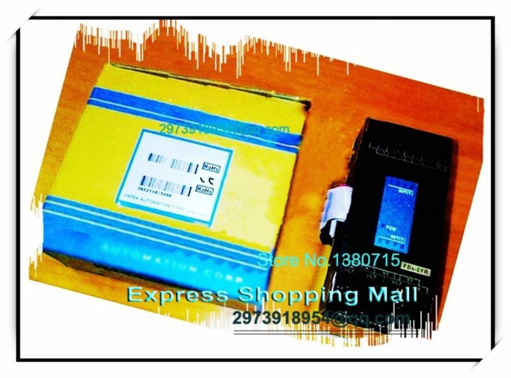 New Original FBs-8YR PLC 24VDC 8 DO relay Module fbs 16xyr fatek plc 24vdc 8 di 8 do relay module new in box