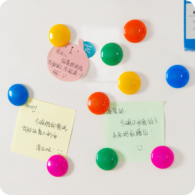 10pcs 3cm colorful button pattern fridge magnet refrigerator magnets magnetic message stickers. Black Bedroom Furniture Sets. Home Design Ideas