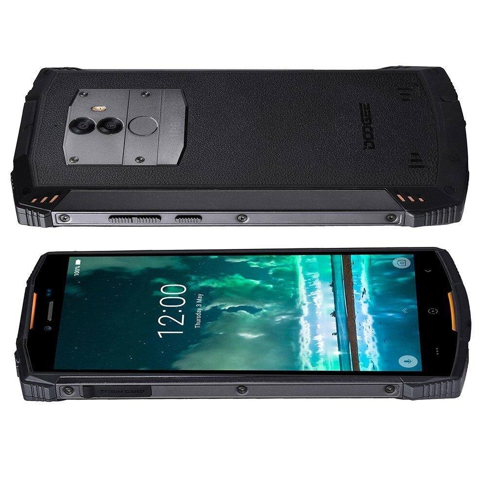 DOOGEE S55 resistente a prueba de golpes a prueba de teléfono móvil android 8,0 de 5500mAh 4GB RAM 64GB ROM MTK6750T Octa Core 4G rápido de carga de teléfono inteligente - 5
