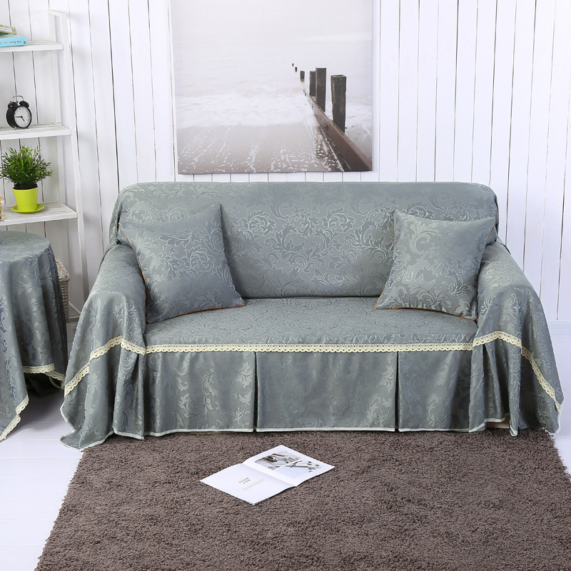 Drop Shipping Classical Solid Pattern Universal Sofa Covers Throw Couch Corner Cover Cases for Furniture Armchairs Home Decor