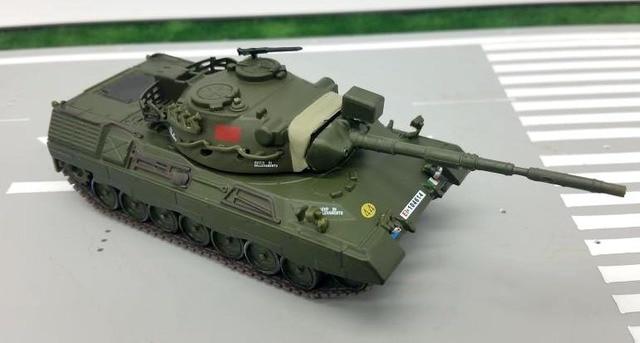AMER 1:72 The German Leopard 1A2 tank model Simulation model