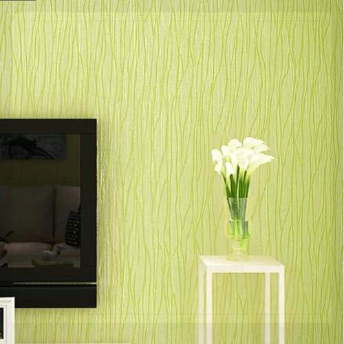 PVC Striped Wallpaper Roll Solid Vertical Stripe Kids Bedroom TV ...