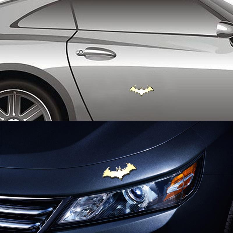 2017 Car Styling 3D Metal Cool Bat Sticker Batman Badge Emblem Tail for Alfa Romeo Disco Volante Giulietta GT GTV MiTo Spider