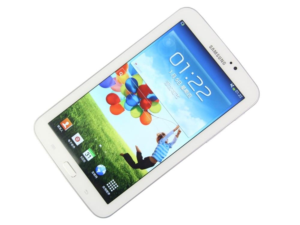 цена на Samsung Galaxy Tab 3 7.0 inch T210 WIFI Tablet PC 1GB RAM 8GB ROM Dual Core 4000mAh 3.15MP Camera Android Tablet