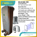 B3-014-15 Stainless Steel Plate heat exchanger  working as evaporator of chiller to cooling beer