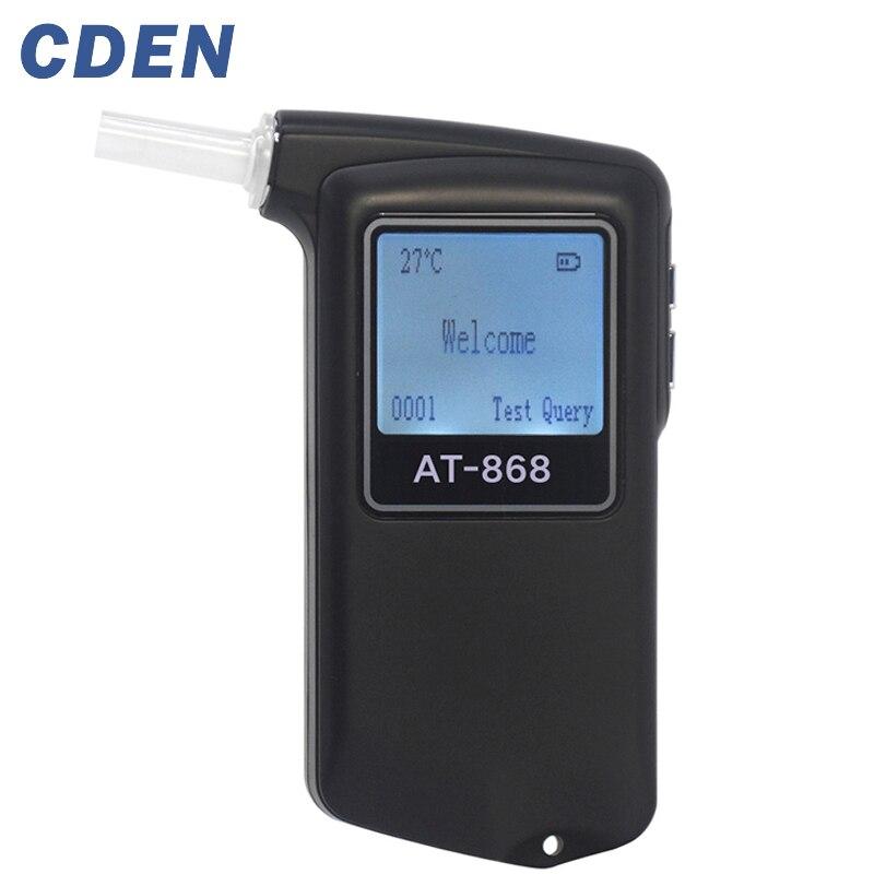 Appareil de contrôle d'alcool d'embouchure professionnel testeur d'alcool d'haleine numérique de haute précision d'affichage à cristaux liquides pour le conducteur ivre