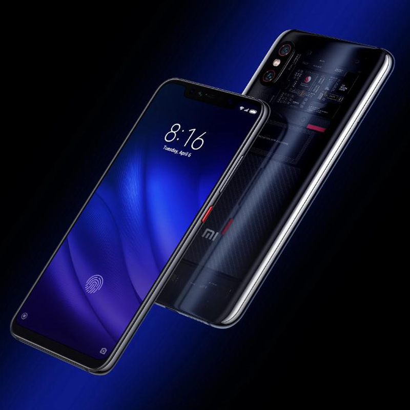 "Image 3 - Original Global Version Xiaomi MI 8 Pro 8GB 128GB 6.21"" Full Screen Snapdragon 845 20MP Front Camera Face Unlock NFC Mi8 Pro-in Cellphones from Cellphones & Telecommunications"