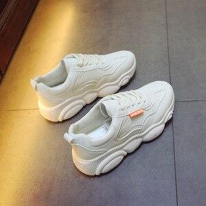 Image 5 - 통기성 에어 메쉬 espadrilles ins hot shoes 여성 곰 zapatos de mujer 스포츠 러닝 운동화 야외 tenis sapato feminino