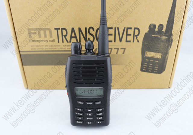 US $58 0 |Iradio 777 best VHF handheld ham radios with free earpieces-in  Walkie Talkie from Cellphones & Telecommunications on Aliexpress com |