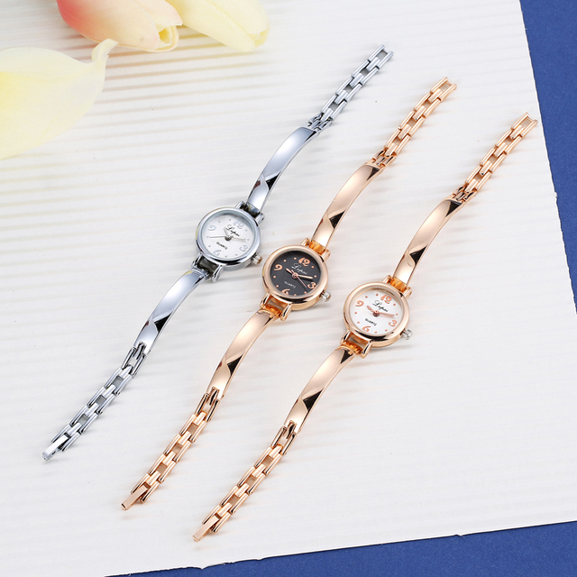 Luxury Watch Women Dress Bracelet Watch Fashion Crystal Quartz Wristwatch Classic Gold Ladies Casual Watch Lvpai 2017 Top Brand