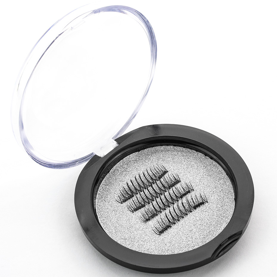 HaHaLash Magnetic Eyelashes 6D eype with two tiny magnets Natural curl Hand Made Factory Sell Eyelashes extention-HH-CT03-2
