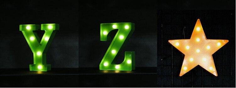 Boa qualidade Letras Letreiro de LED Sinal