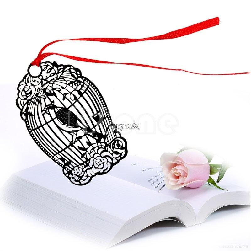 Ретро Металл Закладки птица творческий подарок книга журнал Этикетка Марк малыш чтение Z11 Прямая поставка