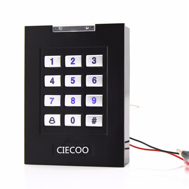 RFID Card Metal Case Keypad 125khz RFID Card Metal Case Keypad 125khz Stand alone access controller with WG input