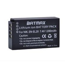 Batterie Li-Ion Rechargeable EN EN-EL20, pour appareil photo Nikon 1 J1 J2 J3 S1, 1 pièce, EL20, ENEL20, livraison directe z1