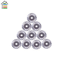 10pc 45mm Rotary Cutter Blade fit Olfa fiskar Roatry Cuuter Refill Pinking Lace Blades for Portable Paper Trimmer Sewing Tools
