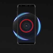 Fantasy Qi Wireless Charger Light No Wire Wifi Pad Induction Charging For Iphone XS Inductive Huawei P30 PRO
