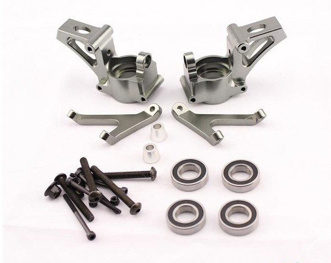 baja alloy front hub carrier Set with free shipping alloy front hub carrier for 1 5 hpi baja 5b 5t 5sc
