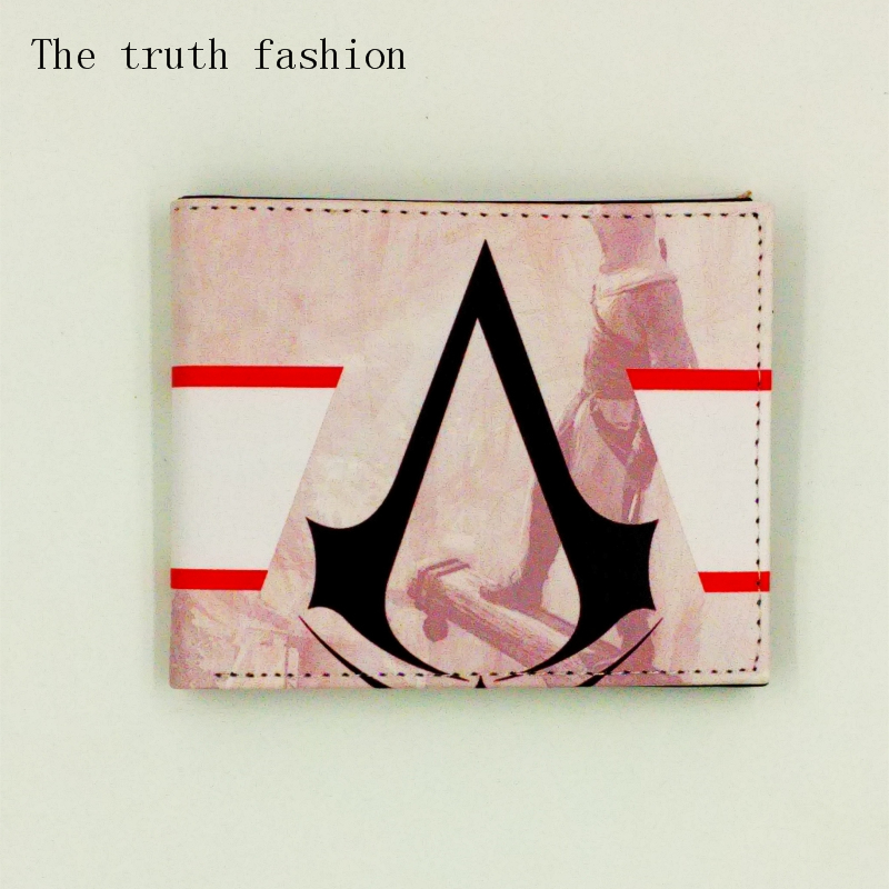 New Coin Purses For Kids Character the Assassin's Creed Wallets the walking dead men's wallets the breaking bad purse female fvip new arrival the joker deadpool poke go the dead walking bifold men wallets with zipper coin pocket purse billeteras