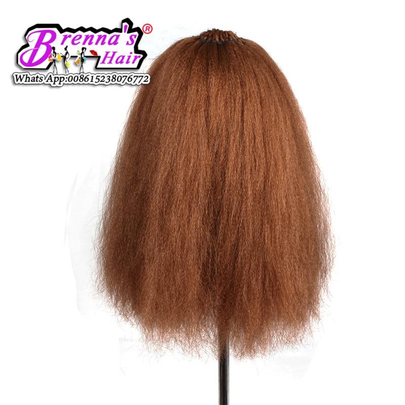 """Perfect natural texture human feeling hair crochet braids 18""""Dominican Blowout Straight hair Pre-made loop hair flame retardant"""