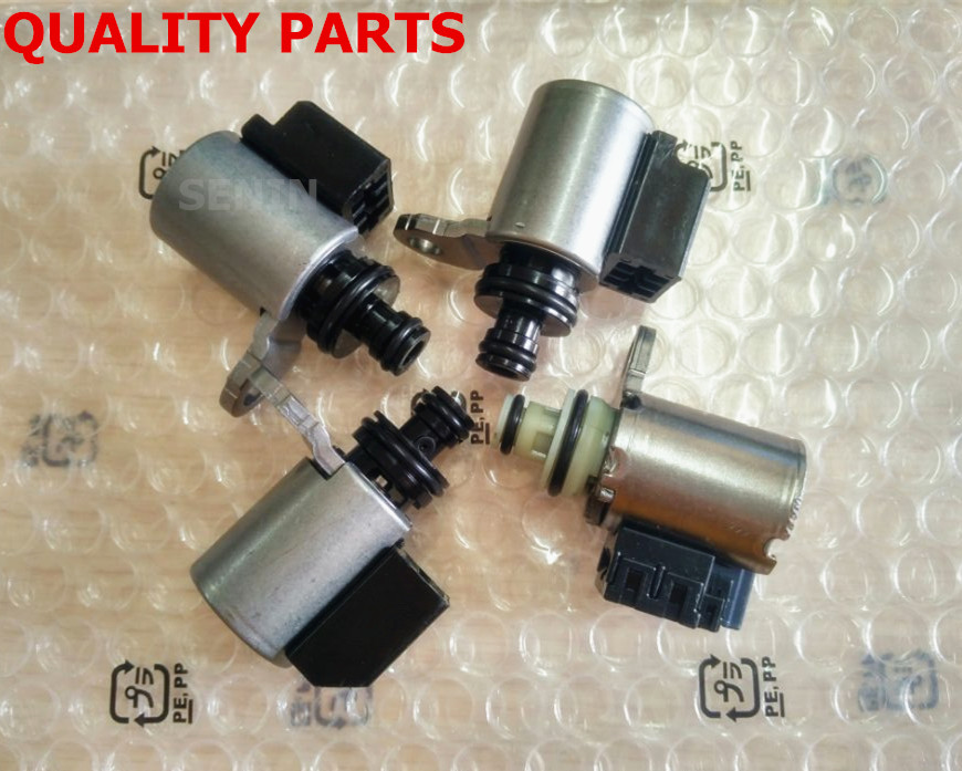 4pcs CVT Transmission Solenoid Kit JF011E/RE0F10A/F1CJA ...