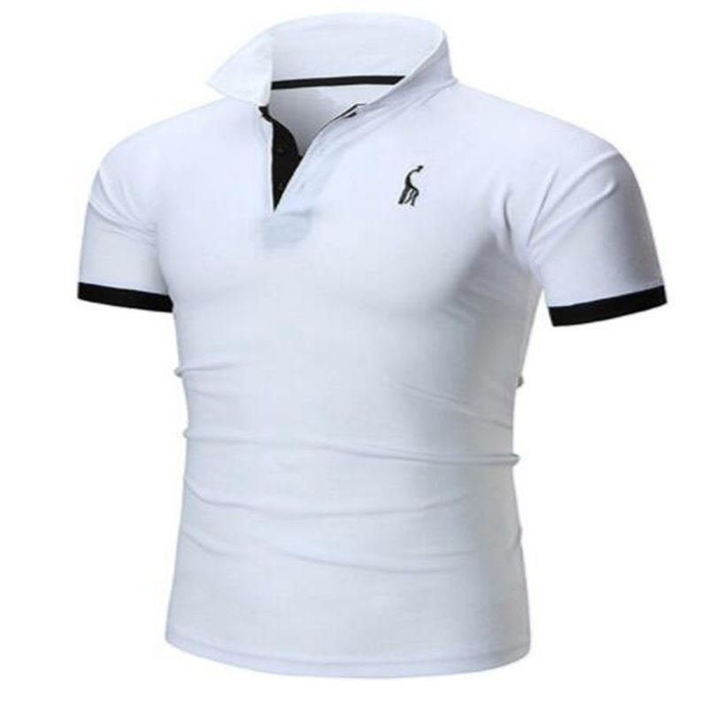 Cheapest Europe size New Men Polo Shirt Men Cotton Short Sleeve Shirt Sportspolo Jerseys Golftennis Plus Size Camisa Polos Homme in Polo from Men 39 s Clothing