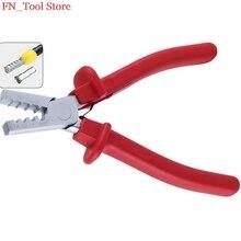 FASEN PZ1.5-6 Германия стиль небольшой обжимной плоскогубцы для кабеля конец рукава специальный инструмент сталь