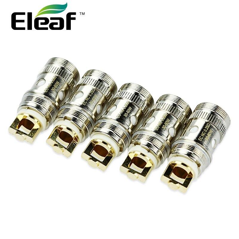 5 pz Originale Eleaf ECL 0.3ohm/0. 18 ijust S Atomizzatore Testa per iJust S/iJust 2/iJust 2 mini/Melo/Melo 2/Melo 3/Lemo3 Atomizzatore