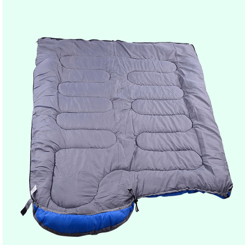 Image 3 - VILEAD Envelope type Hand unbound Sleeping Bag Ultralight Portable Waterproof Hiking Camping Stuff Adult Quilt Bed Lightweight-in Sleeping Bags from Sports & Entertainment