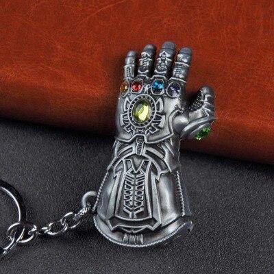 Металлический брелок Marvel, Мстители, Капитан Америка, щит, Человек-паук, Железный человек, маска, брелок, игрушки, Халк, Бэтмен, брелок, подарок, игрушки - Color: Dark Gray