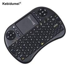 kebidumei 2016 Wireless Keyboard 2.4G i8 Touchpad Mouse Combo mini