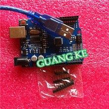 20set/lot UNO R3 UNO board with usb cable  UNO MEGA328P CH340G