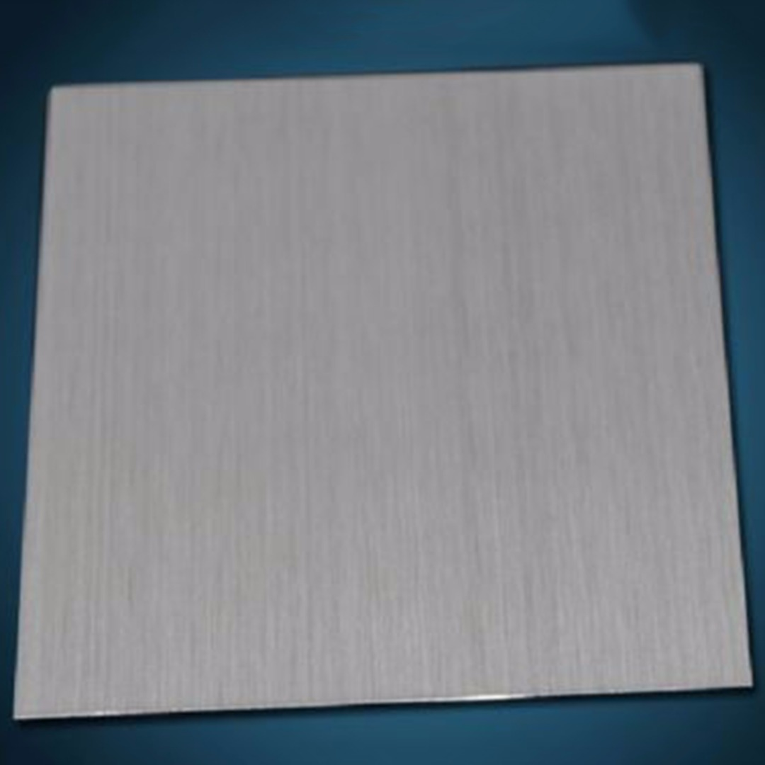 DWZ New 304 Stainless Steel Fine Polished Plate Stainless Steel Sheet 0.5*100*100mm