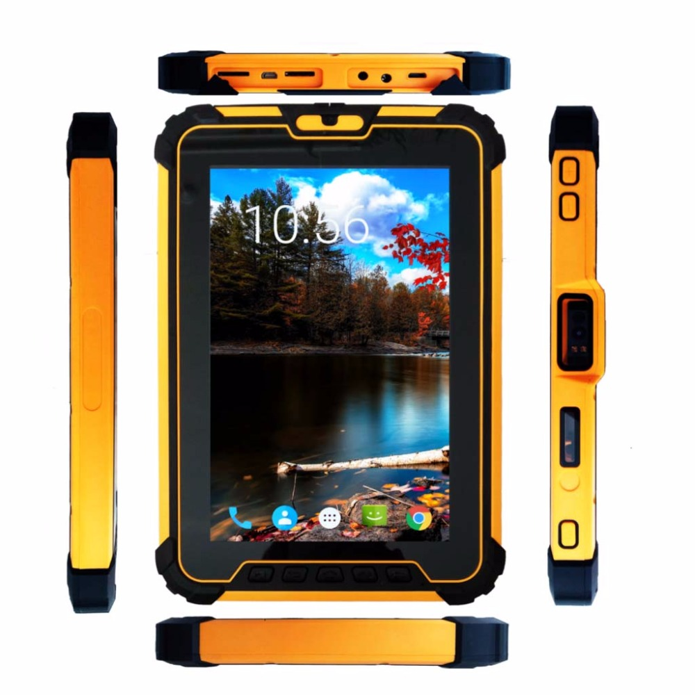 2018 Rugged Tablet SA T9680 0108U 1D Laser Rugged Multi Function Android 7.1 Industrial Tablet