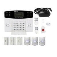 GSM Беспроводной дома сигнализация Системы SOS движения двери, окна Сенсор безопасности авто дом безопасности безопасной сигнализации Систем