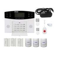 GSM Wireless Home Burglar Alarm System SOS Motion Door Window Sensor Security Auto Home Security Safe Alarm System