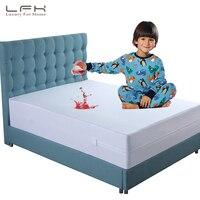 LFH Zippered Bed Bugs Mattress Protector Waterproof Bed Cover For Mattress Box Spring Mattress Encasement Anti Mites Bed Sheet