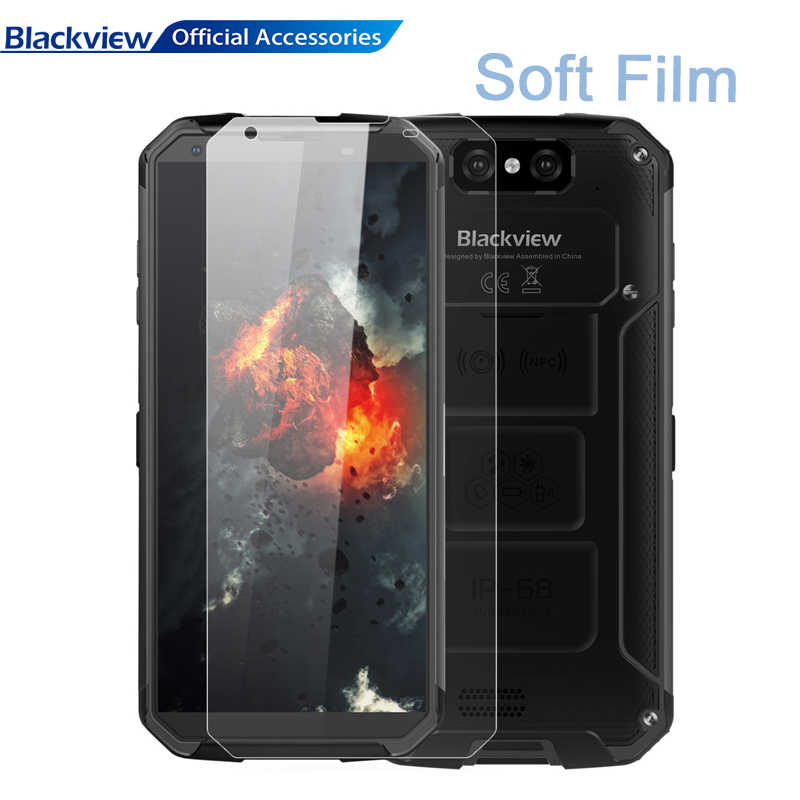 3PCS/LOT Blackview Tempered Glass Soft Front Film BV9500 Scratch Proof Protective Glass Cover BV9500 Pro Screen Protector