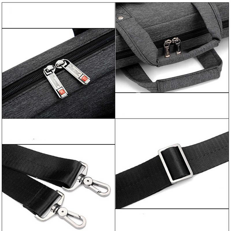 Marque sac étanche pour ordinateur portable 17.3 17 15.6 15 14 13.3 13 pouces épaule portable Messenger femmes cahier sac pour macbook air bag