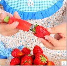 3PCS creative Tomato Stalks Fruit Strawberry Knife Stem Leaves Remover Huller Corers Kitchenware Kitchen Tools
