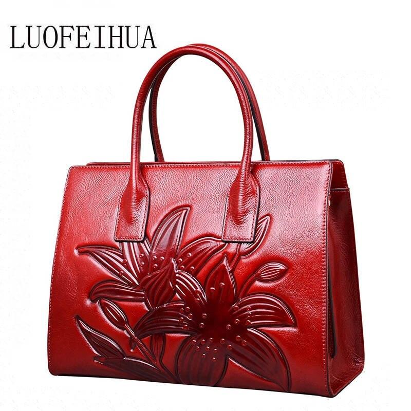 brown purple Handtasche Marke Für Taschen Purple green Echtes Muster red Tasche Luxus Frauen Neue Krokodil 2019 Designer Leder qgRZ1za