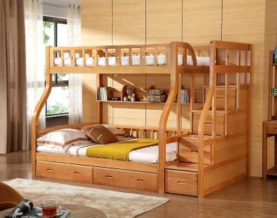 Literas cama de madera cama de madera de abedul moderno cama de ...