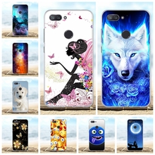 For Xiaomi Mi 8 Lite Phone Case Soft TPU Silicone Youth Cover Cute Cartoon Patterned 8X Shell Bag